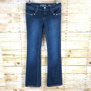 YMI Dark Wash Boot Cut Jeans Sz 7